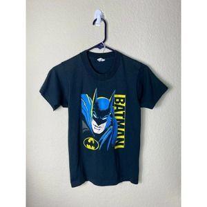 Youth Large DC Comics Batman 1988 80s Shirt VTG